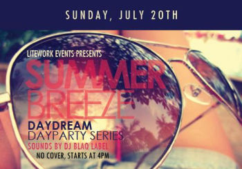 """Summer Breeze"", Part of the Day Dream Day Party Series – July 20, 2014"