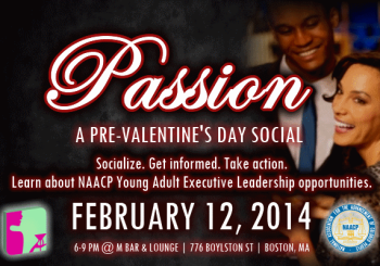 Passion: Pre-Valentine's Day Mixer – February 12, 2014