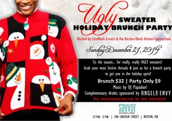 Ugly Sweater Holiday Brunch Party – December 21, 2014