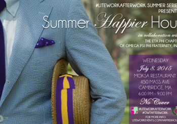 #LiteWorkAfterWork: Summer Happier Hour –  July 8, 2015