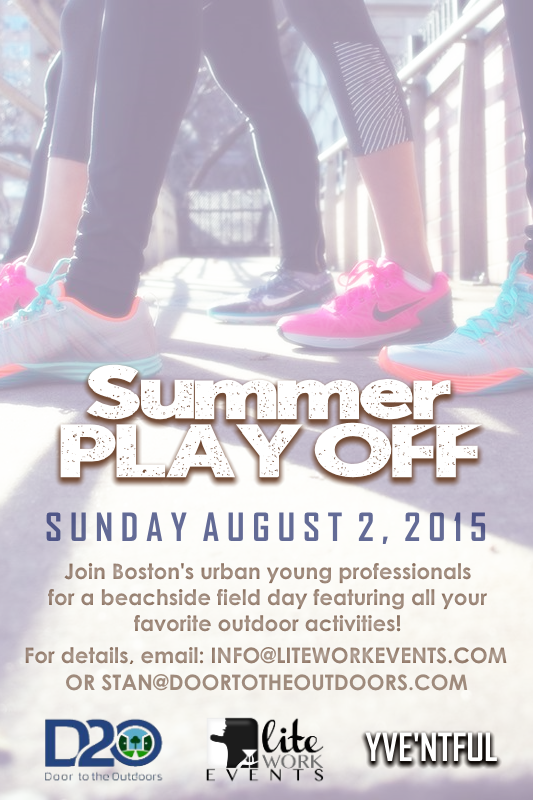Summer Play Off Flyer