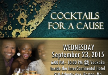 Cocktails for a Cause – September 23, 2015