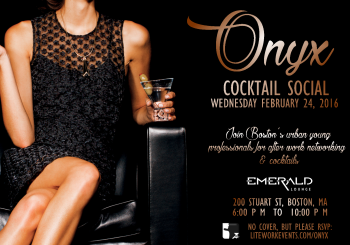 Onyx Cocktail Social – February 24, 2016