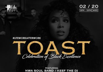 Toast | A Celebration of Black Excellence – February 20, 2019