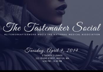 Tastemaker Social – Tuesday, April 9, 2019