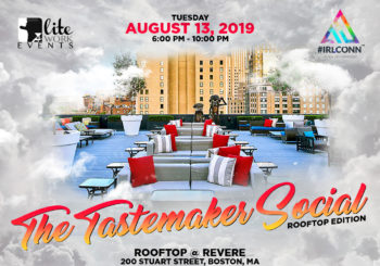The Tastemaker Social: Rooftop Edition with #IRLCONN – Tuesday, August 13, 2019