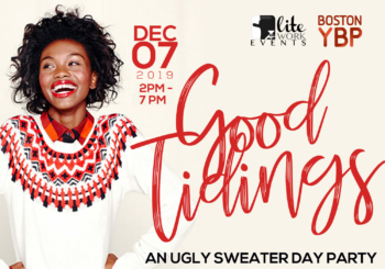 Good Tidings Ugly Sweater Day Party – Saturday, December 7, 2019
