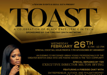 TOAST: A Celebration of Black Excellence in Tech – Wednesday, February 26, 2020