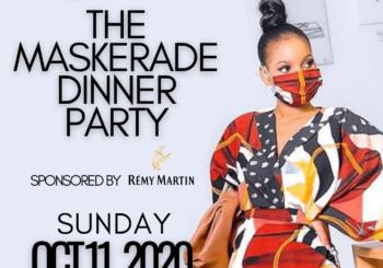 Maskerade Dinner Party – October 11, 2020