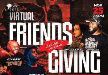 Virtual Friendsgiving – November 25, 2020