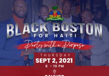 Black Boston for Haiti – September 2, 2021